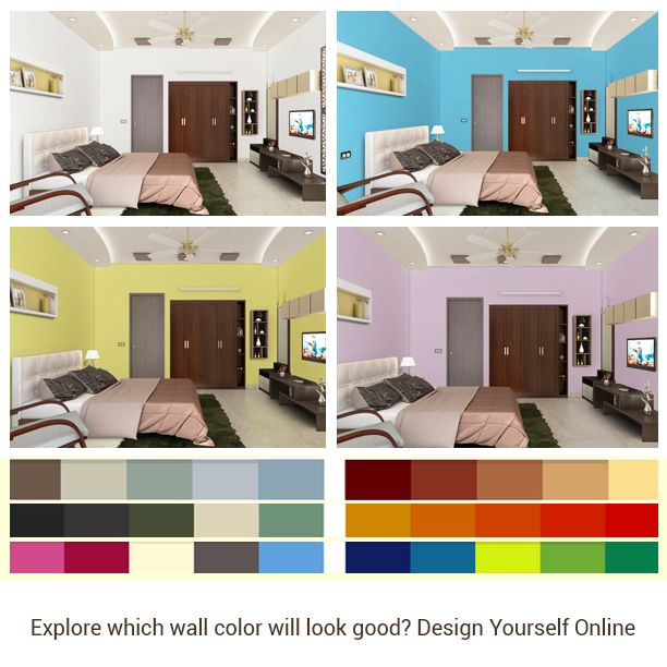 Play With The Colors Virtually To Find The Perfect Color For Your Bedroom Here Http
