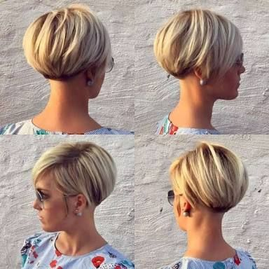 Image result for very short hairstyles for women with cowlick