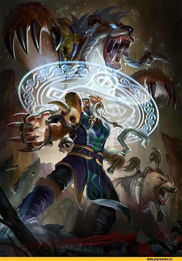 Lone Druid. One of my fav. Heroes to play on Dota 2 #Dota2 - http://boitinhduyen.info