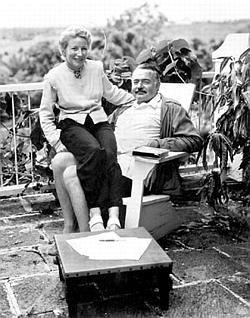 Mary and Ernest Hemingway