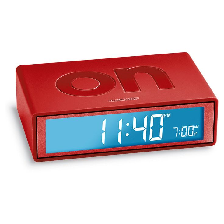 Really simple alarm clock. Wish it weren't battery-only