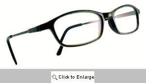 Tina Fey Boardroom Readers Glasses - 121A Brown Marble
