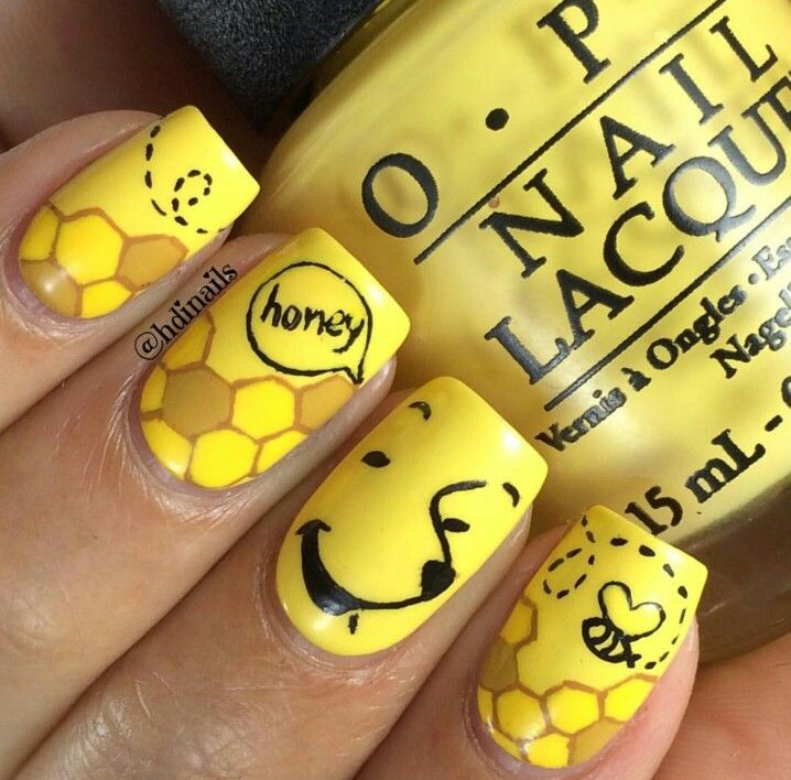 61 Best Images On Pinterest Nail Design Cute Nails