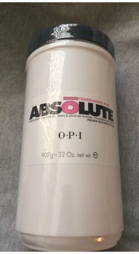 Acrylic Powders and Liquids: Opi Nail Absolute Acrylic Nail Powder Translucent Pink 32Oz 907G New! -> BUY IT NOW ONLY: $85 on eBay!