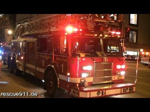 High-rise fire - Chicago fire department [Ride along] - YouTube