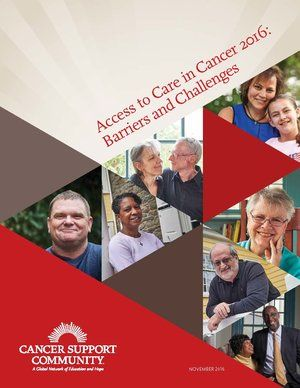 Cancer Support Community | So that No One Faces Cancer Alone