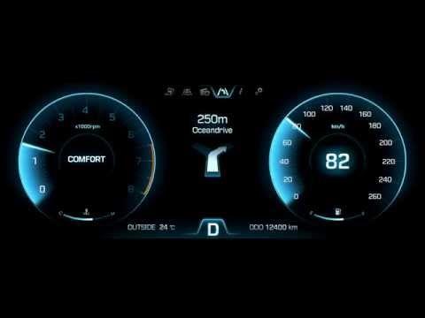 Hyundai Motors 'HI Future Cluster' Interface GUI & Moti on Behance
