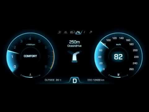 Hyundai Motors 'HI Future Cluster' Interface GUI & Moti on Behance