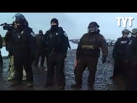 Water Protector's Bones BROKEN By Militaristic Police
