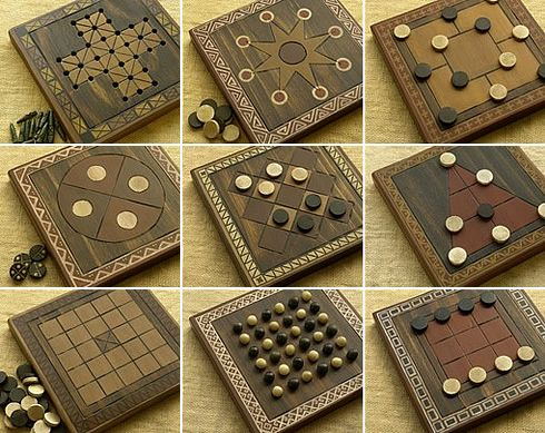 42 Ancient Board Games (A bit pricey, but great for inspiration)