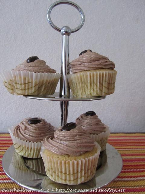 Küchenlatein: Sonntagssüß: Mokka Cupcakes