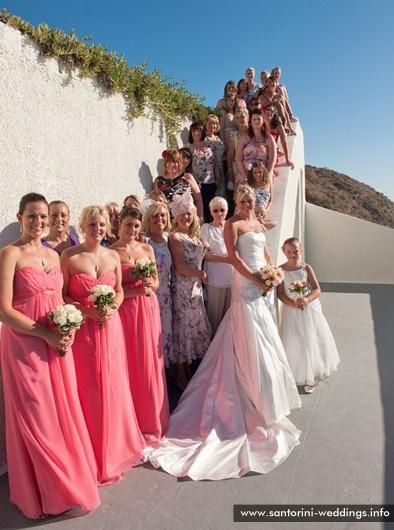 #Santorini #wedding #ceremony