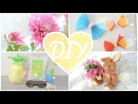 Летний декор комнаты DIY Summer Room Decor, My Crafts and DIY Projects