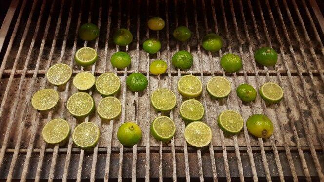 Josper grill grilling limes