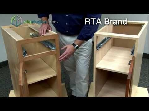 Cliqstudios vs ready to assemble rta kitchen cabinets for Already assembled kitchen cabinets