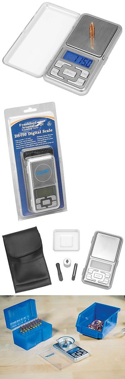 Powder Measures Scales 71119: Ds-750 Digital Reloading Scale BUY IT NOW ONLY: $36.38