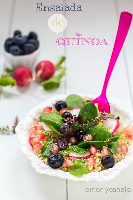 Ensalada de Quinoa - Sueños de amor y canela