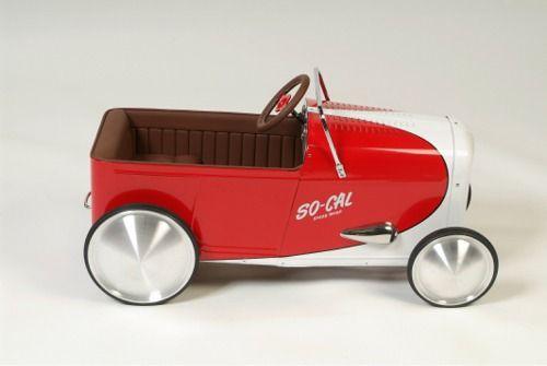 Tretautos Hot Rod Vintage Spielzeug