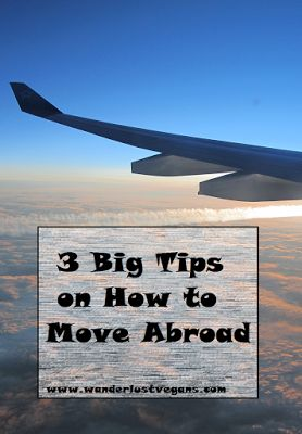 3 Big Tips on How to Move Abroad