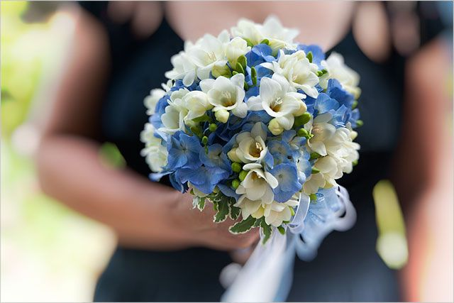 bouquet with turquoise hydangeas and white scented freesias: Ideas, Bridal Bouquets, Wedding Bouquets, Spring Bouquets, White Bouquets, Blog, Blue Bouquets, Bridesmaid Bouquets, Hydrangeas
