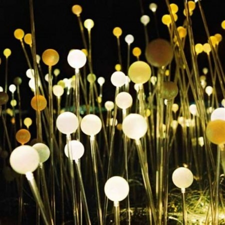 bruce munro. via @blackeiffelBruce Munro, Trav'Lin Lights, Lights Installations, Eden Projects, Installations Lights, Brucemunro, Art Installations, Outdoor Lights, Fields