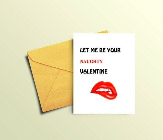 Naughty Valentines Card for Boyfriend Sexy Valentines Day Card for Him Printable Valentine Card for Husband Naughty Valentines Gift for Him