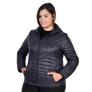 White Mark Women's Plus Size Puffer Coat | Overstock.com Shopping - The Best Deals on Outerwear