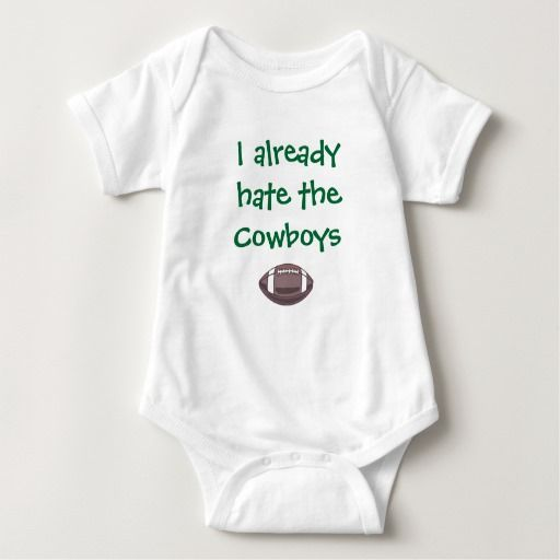 I Already Hate the Cowboys - Eagles Baby Bodysuit