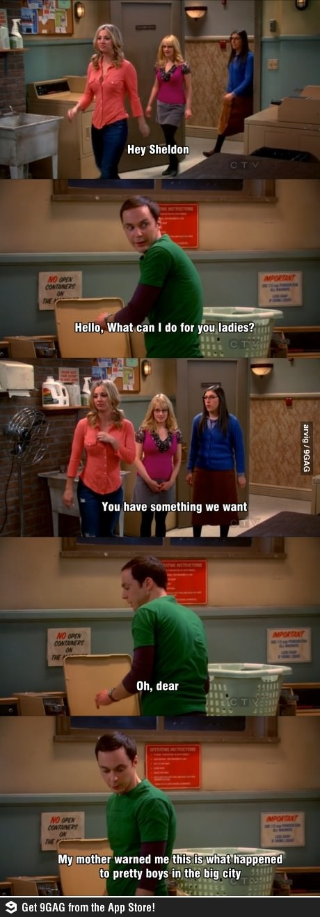 oh, that Sheldon...