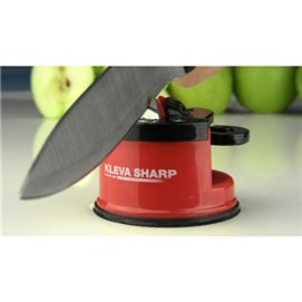 KLEVA Sharp works on virtually any knife, including expensive hardened steel knives and even some serrated blades (like bread knives and hunting knives), making it unlike any knife sharpener.