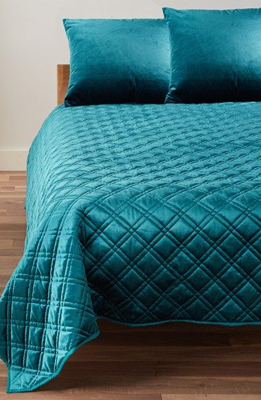 Free shipping and returns on Levtex Velvet Quilt at Nordstrom.com. A streamlined, diamond-stitched quilt is crafted from luxurious velvet in rich hues perfect for the holiday season.