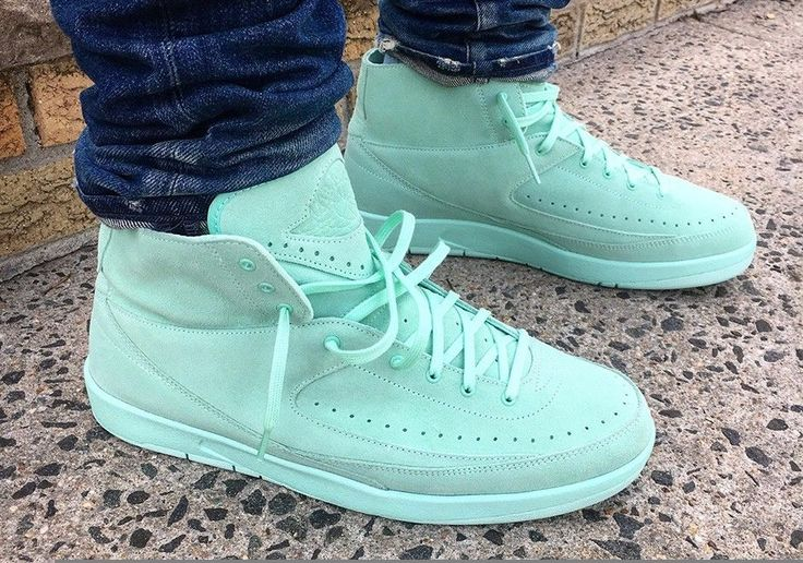 AIR JORDAN RETRO 2 DECON C  Limited release. Gold, Mint, and Bordeaux.    #wllnvrknw  pinterest.com/wllnvrknw/