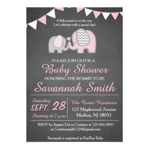 best girl baby shower invitations images on   baby, Baby shower