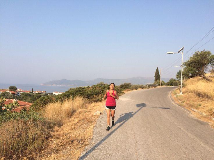 Running #Samos #Greece
