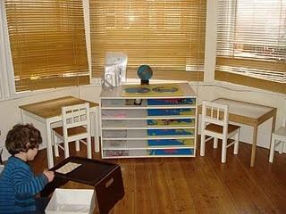 The Learning Ark Homeschool Classroom: Montessori Environment