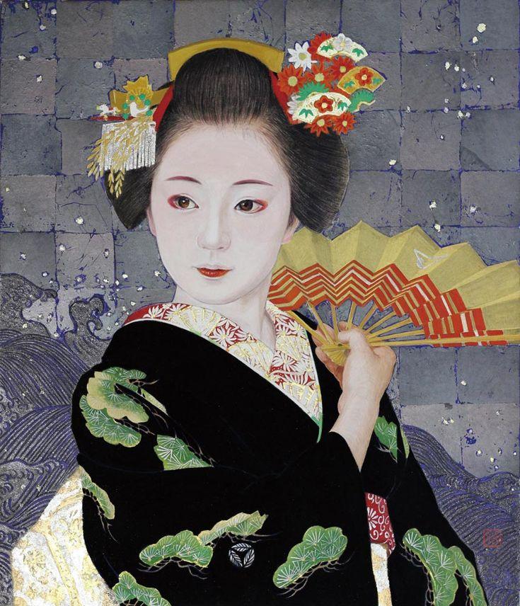 「波を舞う』 : 黒川雅子のデッサン BLOG版