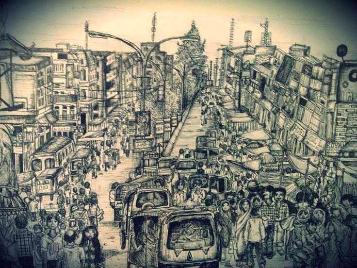 City Sketch- Jodhpur, India