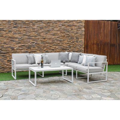 6pc Milan Modular Rattan Corner Sofa Set Stylish Chairs Pin By Rachel Evident On Garden Design Pinterest Gardens Debenhams Rochelle
