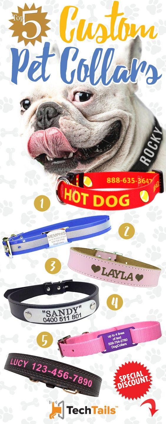 Top 5 Custom Pet Collars (Personalized) ►LINKS INSIDE