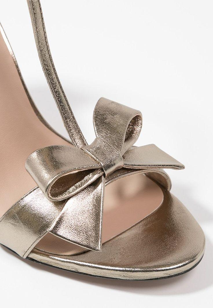 Pura Lopez High Heel Sandaletten - gold - Zalando.de