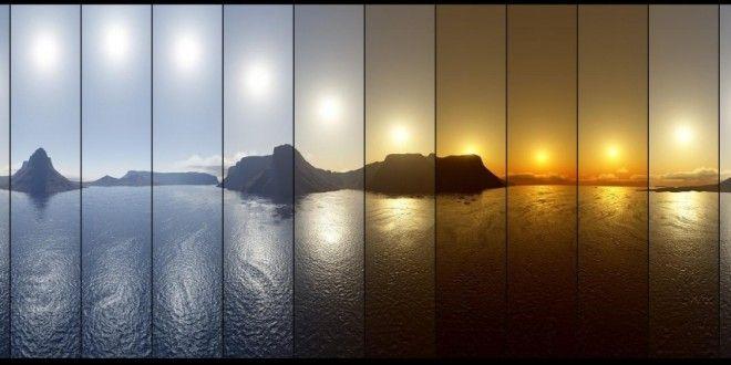 Il Sole di Mezzanotte in Finlandia