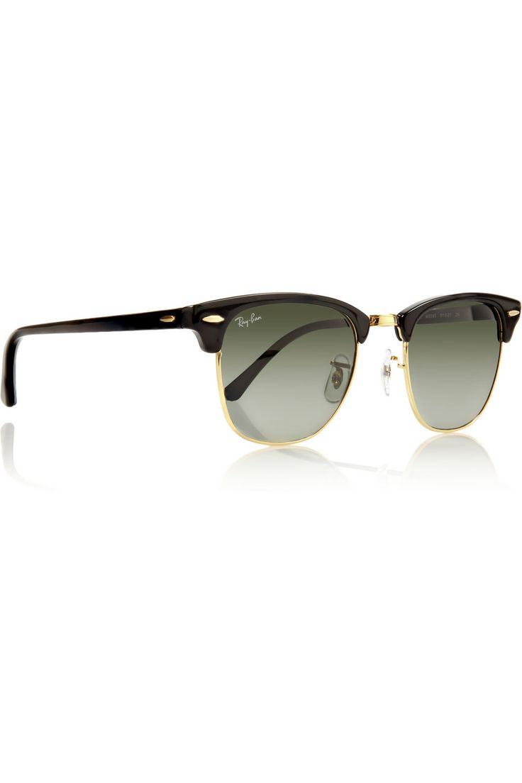 Half Frame Clubmaster Glasses : Ray-ban Clubmaster Half-frame Acetate Sunglasses ...
