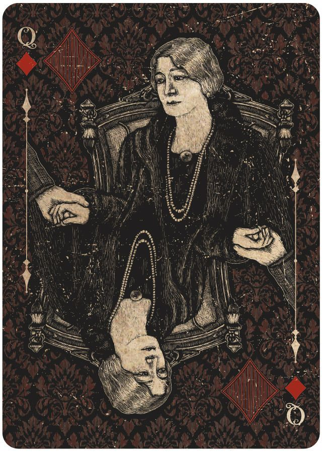 128 Best Images About Playing Cards/Tarot On Pinterest