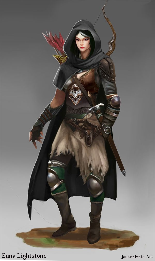 enna lightstone dnd commission by jackiefelixart d d character art