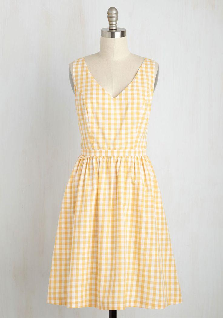 Patio My Goodness! Dress in Lemonade, @ModCloth