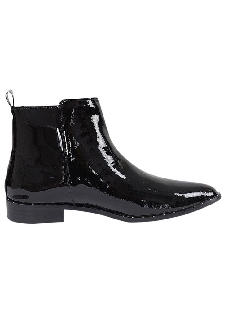 Hael and Jax - Paris Boot In Black Patent