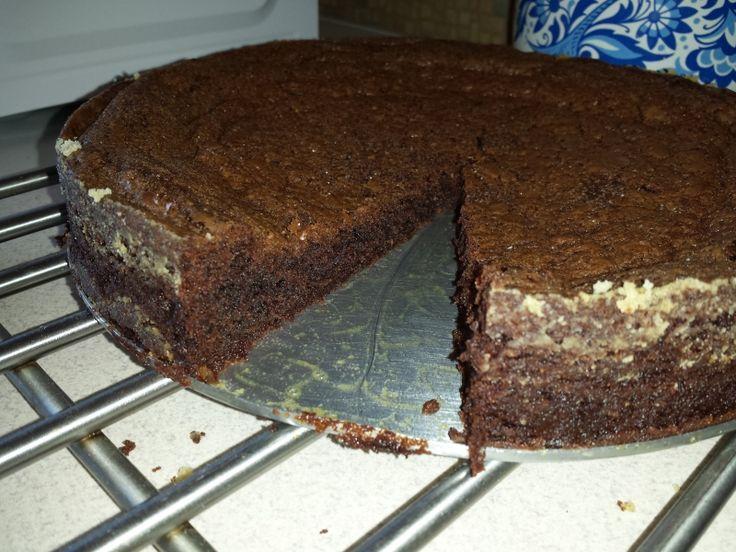 Nádherně vláčné, čokoládové Brownies  krok 6