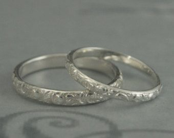 wedding rings on Etsy, a global handmade and vintage marketplace.