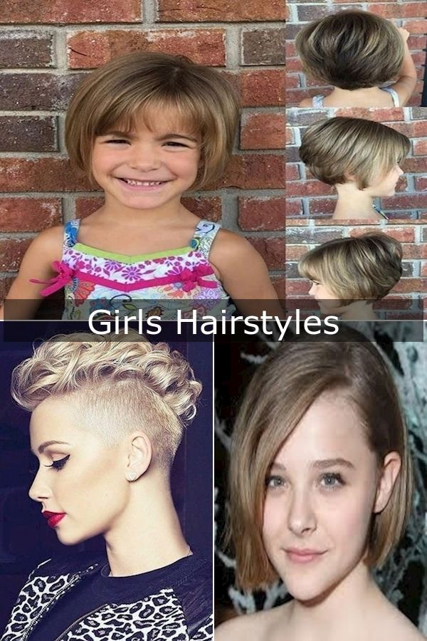 New Short Hairstyle 2016 Recent Haircuts For Ladies Hairstyles For Short Little Girl Hair In 2020 Girl Hairstyles Hair Styles Little Girl Hairstyles