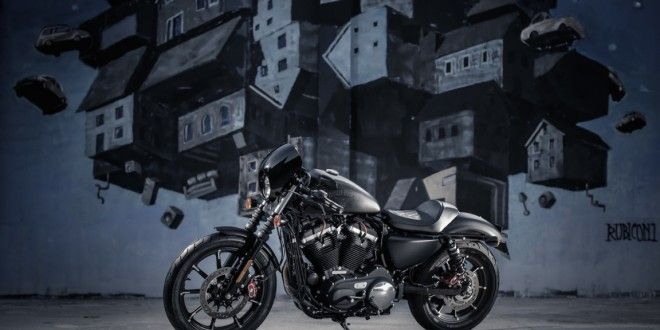 The Sportster Iron 883 customized by Harley-Davidson dealers in 2016   Bikes Media   Latest Bikes News and Review